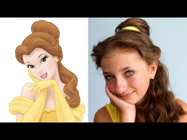 Belles Hairstyle Tutorial   A CuteGirlsHairstyles Disney Exclusive