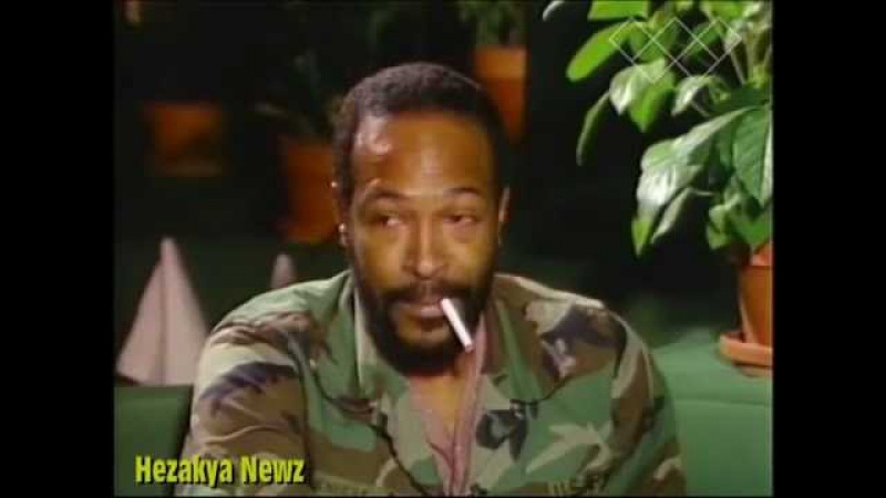 Marvin Gaye HIGH, In LOST 1983 Interview...HONESTLY Talks About DEPRESSION and MOTOWN!!