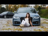 """Audi A4 with RS4 look (20""""Stance wheels)"""