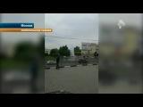 В Москве в течение нескольких часов пытались ликвидировать последствия прорыва пожарного гидранта