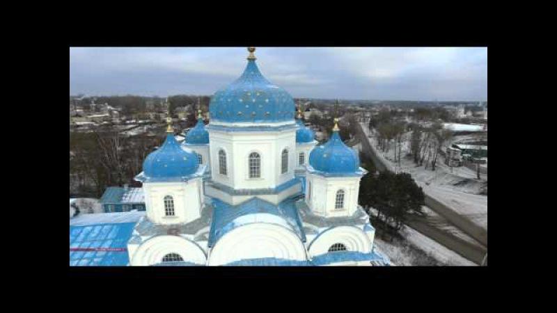 Торжок. 4K. Борисоглебский монастырь. Михайло-Архангельский храм. Torzhok