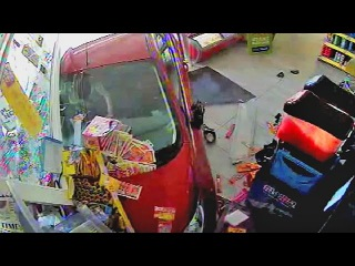 79 Year-Old Drunk Driver Plows Into Store