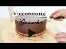 Como conseguir un pastel con BORDES RECTOS Y PERFECTOS con Ganache -