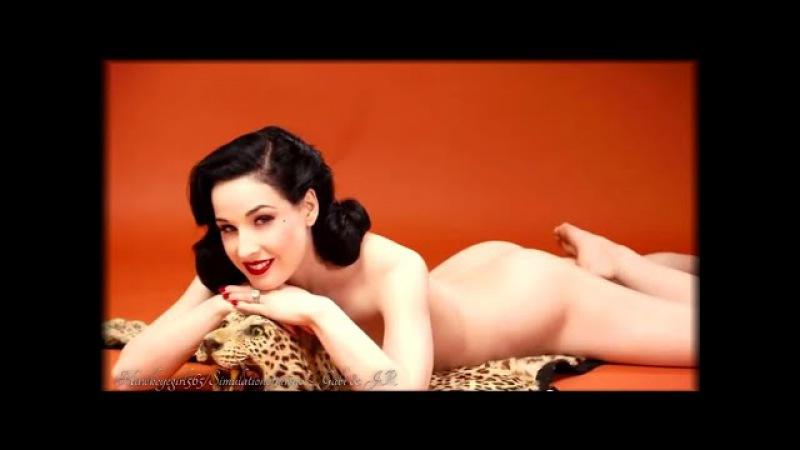 Dita Von Teese ~ Diamonds Are A Girl's Best Friend ~ Marilyn Monroe