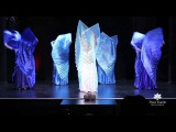 Isis Wings Belly Dance led by Oloma - Fleur Estelle Dance Company