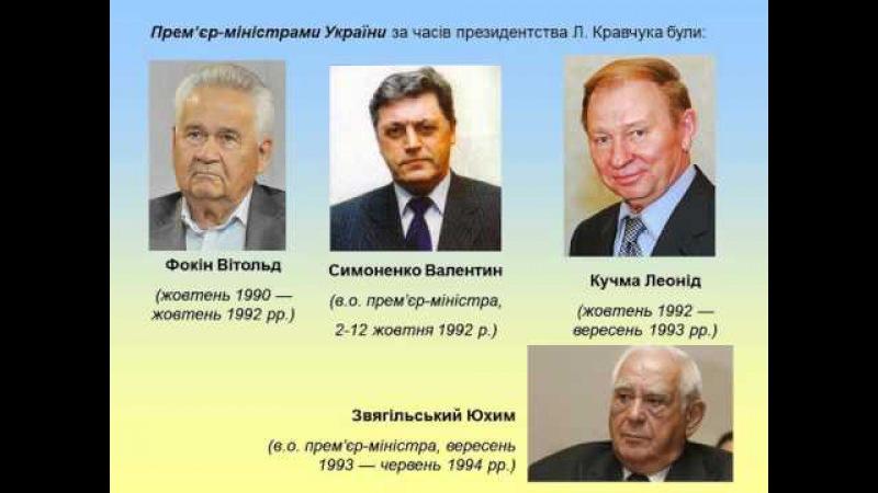Тема 12.1. Незалежна Україна. Президентство Л. Кравчука (1991-1994 рр.)