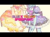 Blue + Yellow Pearls - Steven Universe speedpaint