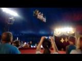 Кристина под куполом цирка! Восторг!!! Город Гусев. 24 июня 2016.