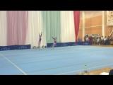 Спортивная акробатика, женская пара,  программ МС, Минск.