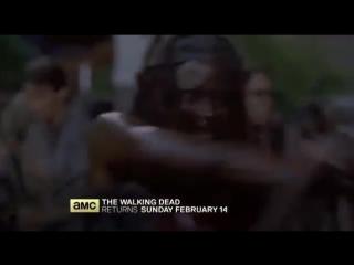 6 сезон «Ходячих мертвецов»: новое промо видео/трейлер 9 серии
