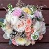Свадебный букет невесты, флористика, Минск