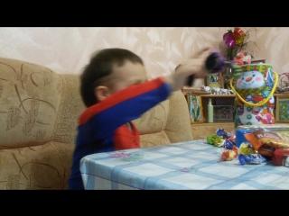 обзор игрушки черерашка нинзя