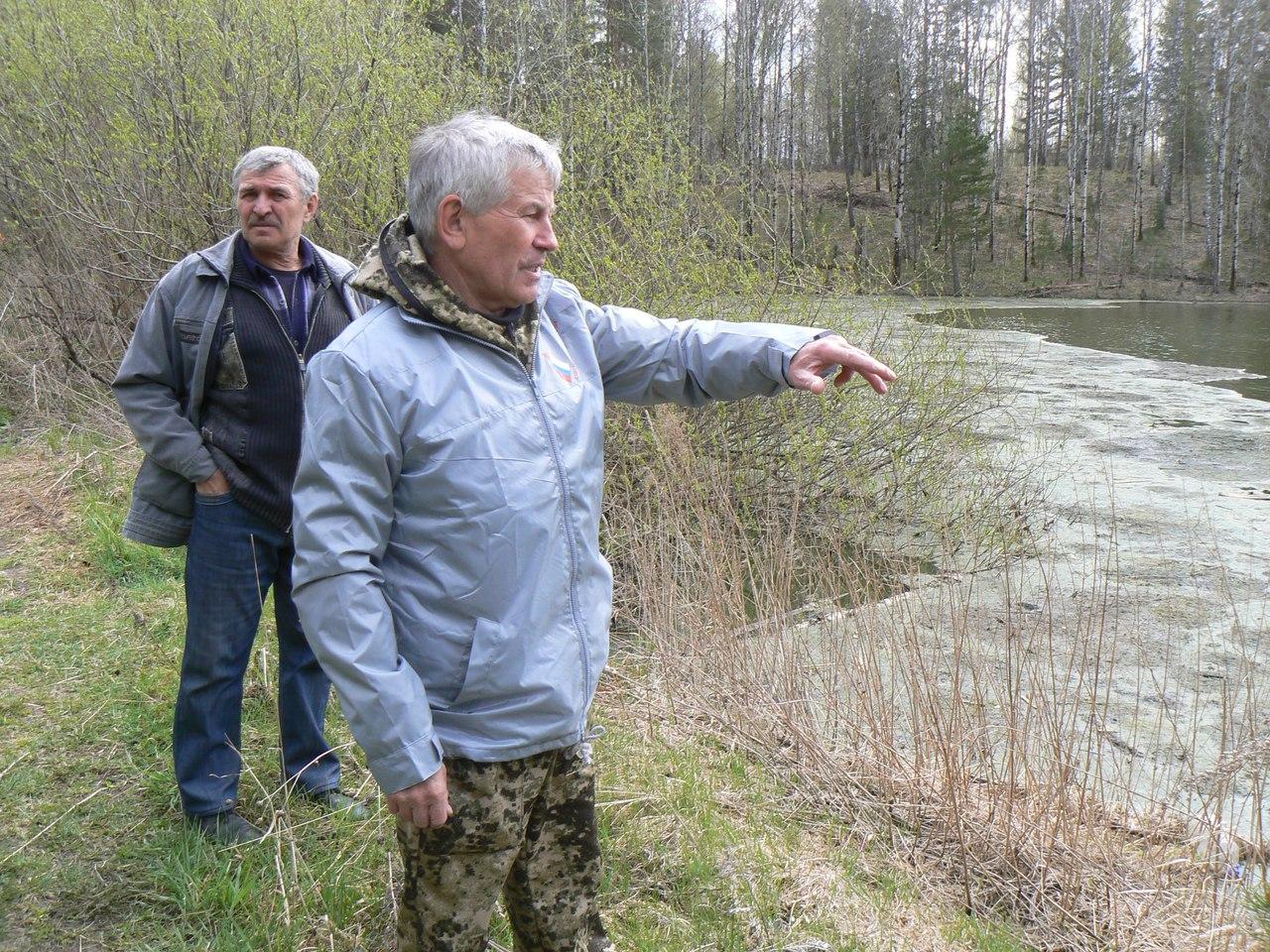 Представители Народного фронта в Томской области приняли участие в выпуске молоди рыбы ценных пород в искусственное озеро