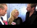 Avril Lavigne and Chad Kroeger talk relationship status on the Junos red carpet April 4, 2016.