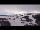 Снежный Ай-Петри. Съемка с воздуха