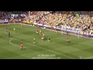 «Норвич Сити» 0:1 «Манчестер Юнайтед»   Обзор матча