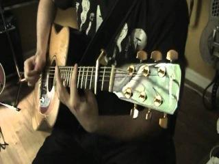 Sunwheel Dance - Bruce Cockburn (cover) - Acoustic Fingerstyle Guitar