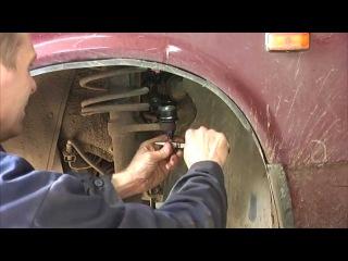 Замена рулевого наконечника ВАЗ 2108 , 2109 , 21099 , 2110 , 2115 , Приора , Калина
