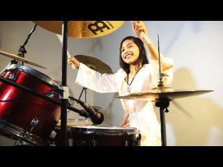 Janam Janam – Dilwale | Shah Rukh Khan | Kajol | Pritam | Kajol | Drum Cover by Nur Amira Syahira