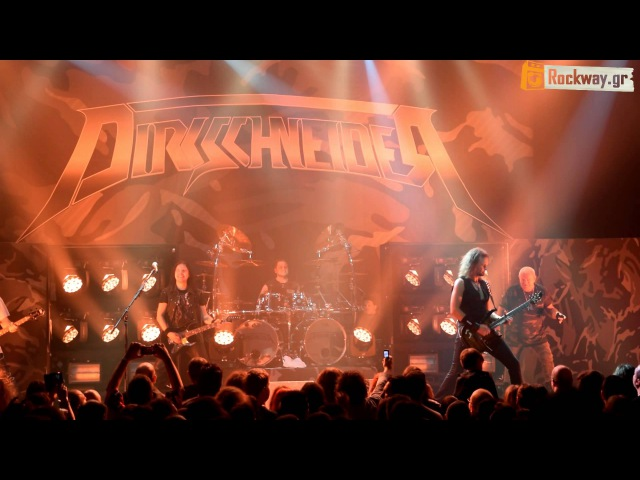 (U.D.O.) DIRKSCHNEIDER Princess Of The Dawn (19316) live @ Athens HQ