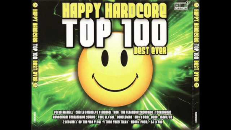 HAPPY HARDCORE TOP 100 BEST MIX EVER - 231:35 MIN (Hardcore Techno Gabber Early Rave HD HQ)