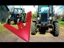 Культивация почвы тракторами ЮМЗ-6КЛ и МТЗ-82.#СельхозТехника ТВ №18