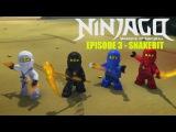 Lego Ninjago - Masters of Spinjitzu. Snakebit. Season 1. Episode 3. English for kids cartoons animated television series