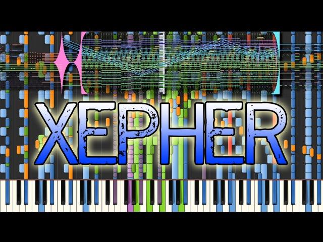 [Black MIDI] Synthesia – Tatsh - Xepher 243,000 | Impossible Remix ~ Rinnosuke