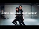 Been Around The World - August Alsina Feat. Chris Brown / Eunho Kim Mina Myoung Choreography