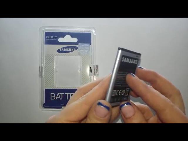 Аккумулятор для Samsung GT-S5360, B5510, S5300, S5302, S5380 Original