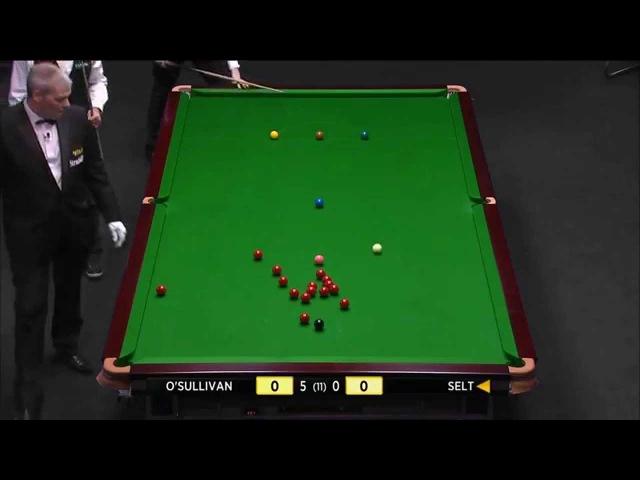 Ронни О'Салливан Последний 13 147 2014 Ronnie O'Sullivan Latest 13 147 UK Championship
