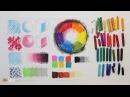 DrawFox Сухая пастель для начинающих Урок 1 1 Основные техники пастели Цветовой круг