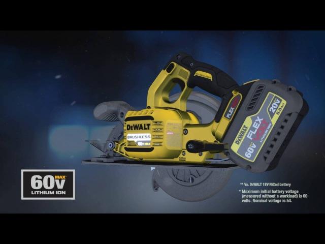 How DEWALT® FLEXVOLT® 20V60V* MAX Batteries Work