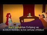 KIRMIZI BAŞLIKLI KIZ Türkçe Çizgi Film Masal- Adisebaba Klasik Masallar