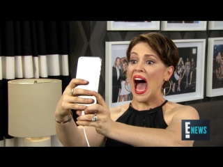 Alyssa Milano Tries Out Her Favorite Snapchat Filters E! News