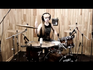 Bullet For My Valentine - No Way Out(drum cover by Vika)
