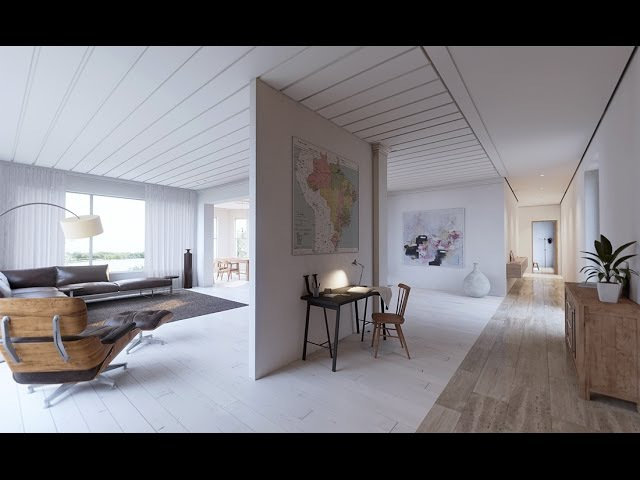 UE4Arch - Lake House Real-time Archviz