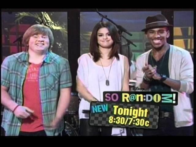 TONIGHT CATCH A NEW EPISODE OF SO RANDOM! with Selena Gomez @ 8:30/7:30c