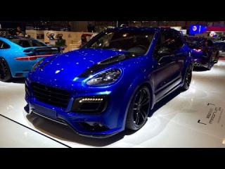 TechArt Magnum Sport 700 HP Porsche Cayenne Turbo S Based at 2016 Geneva Motor Show
