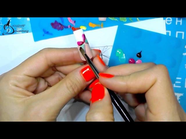 Вебинар Жостово часть 8, Подготовка к уроку в Мастергруппе, обучение жостовской росписи ногтей