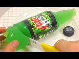 How To Make Real Mountain Dew Drinking Pudding Jelly Cooking Learn the Recipe DIY 마운틴듀 푸딩 젤리 만들기