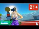 Девушка Случайно Показала Сиськи в HTC VIVE 18 Topless girl in Selfie Sex Tennis