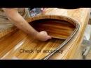 Installing bulkheads into a wooden kayak