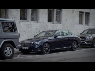Remote Parking Pilot & Parking Pilot in the new E Class Mercedes Benz original