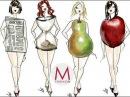 Одежда по типу фигуры Маха Одетая