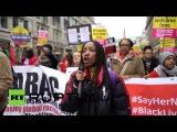 Великобритания: Драки вспыхивают как Великобритания Первый митинг перерасход массивным Добро Пожаловать Беженцев демо.