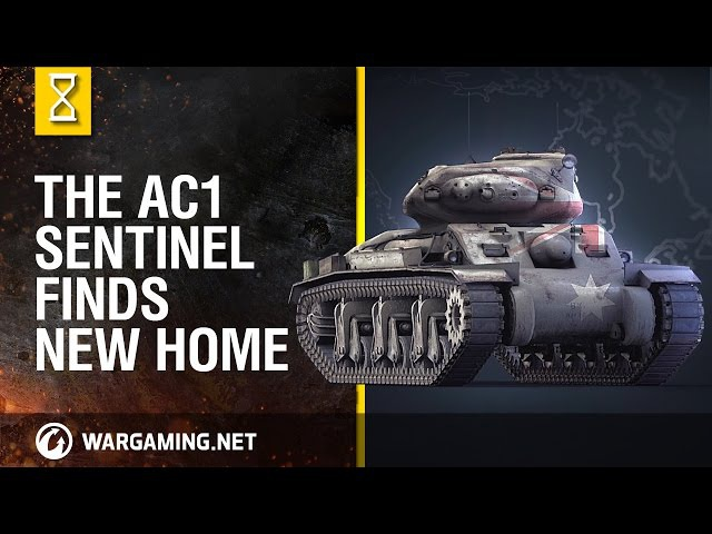 World of Tanks - The AC1 Sentinel Finds New Home