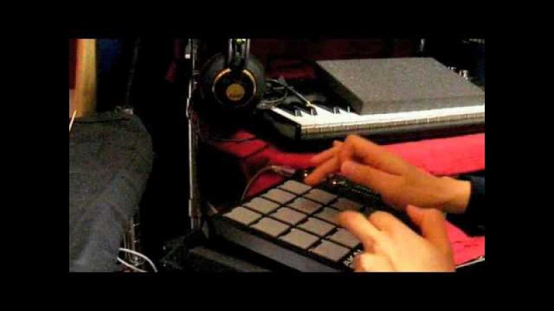 Akai MPD18 Playing Thrash Metal Drum