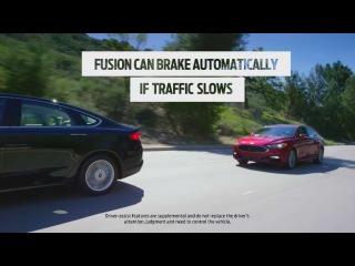 2017 Fusion Adaptive Cruise Control with stop and go technology
