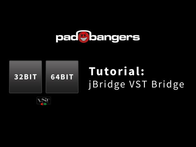 Tutorial: How to use 32 Bit Plugins in your 64 Bit DAW with jBridge